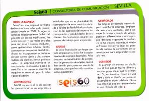 Seis60 en Andalucía Económica