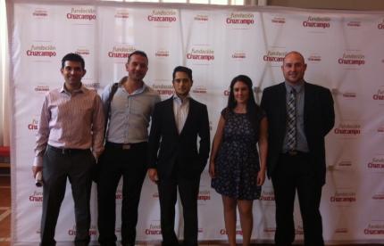 El equipo de Seis60 junto a los compañeros de la empresa Aguayo&Mendivil