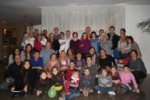 La familia de la FCHP, durante la celebración del tercer aniversario (2012)
