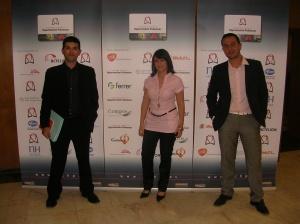 El equipo de Seis60 en la presentación de la FCHP