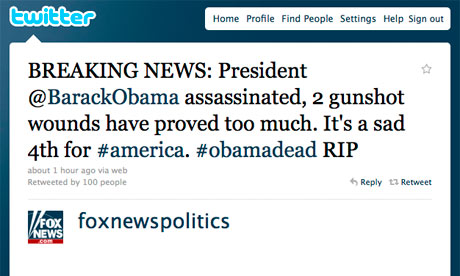 Obama muerto