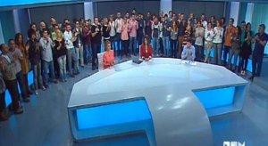 Los trabajadores de Canal 9 lucharon hasta el último momento por la supervivencia de la cadena.