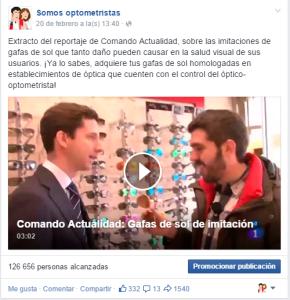 Vídeo Somos Optometristas