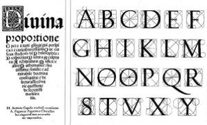 tipografía renacimiento