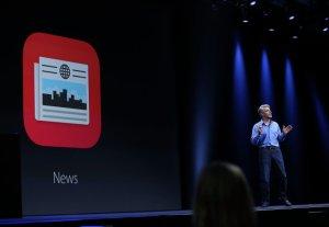 Presentación de Apple News