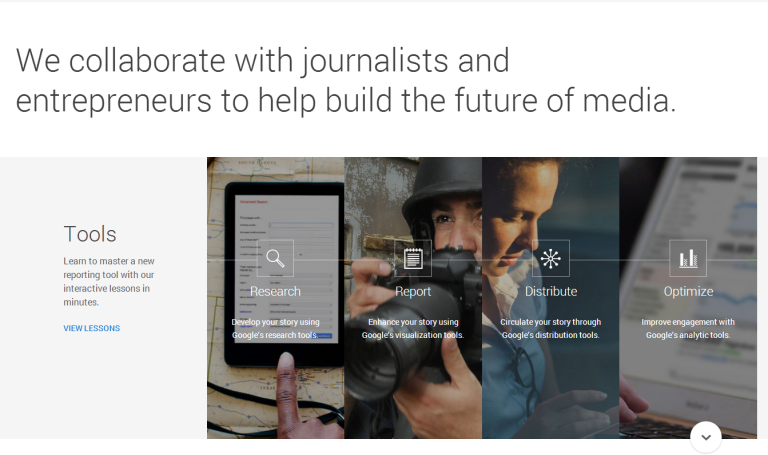 Portal del proyecto News Lab