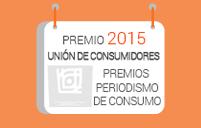 Premio Unión de Consumidores 2015