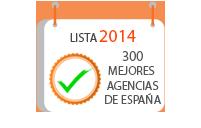 300 mejores agencias España