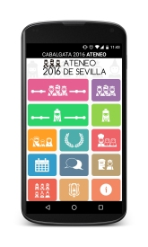 Menú Principal - APP Cabalgata Sevilla 2016
