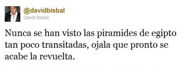Tuit David Bisbal